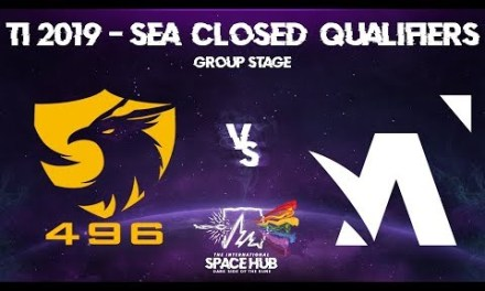 496 vs Amplfy – TI9 SEA Regional Qualifiers: Group Stage