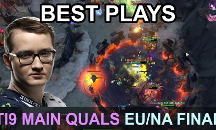TI9 BEST PLAYS Main Quals EU/NA FINAL DAY Highlights Dota 2 by Time 2 Dota #dota2 #ti9