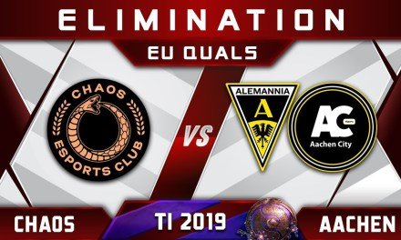 MATUMBAMAN Chaos vs Aachen Elimination TI9 EU The International 2019 Highlights Dota 2