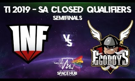 Infamous vs EgoBoys Game 2 – TI9 SA Regional Qualifiers: Semifinals