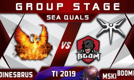 Jinesbrus vs Mineski / Boom ID – TI9 The International 2019 SEA Highlights Dota 2
