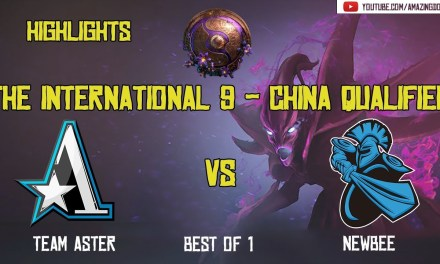 [Highlights] ASTER vs NEWBEE – BO1 | The International 2019 | China Qualifier