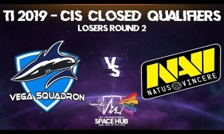 Vega vs Na'Vi Game 3 – TI9 CIS Regional Qualifiers: Losers' Round 2