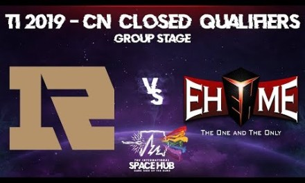 Royal Never Give Up vs EHOME – TI9 CN Regional Qualifiers: Group Stage
