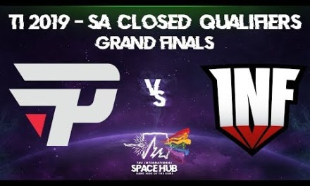 paiN vs Infamous Game 1 – TI9 SA Regional Qualifiers: Grand Finals