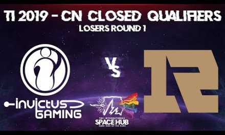 Invictus vs Royal Never Give Up Game 2 – TI9 CN Regional Qualifiers: Losers' Round 1