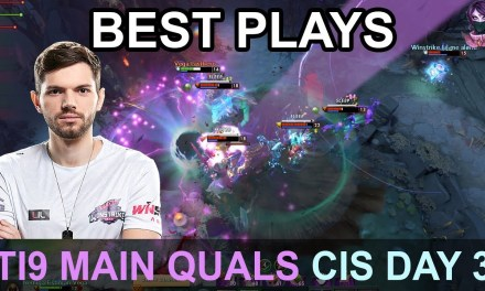 TI9 BEST PLAYS Main Quals CIS DAY 3 Highlights Dota 2 by Time 2 Dota #dota2 #ti9