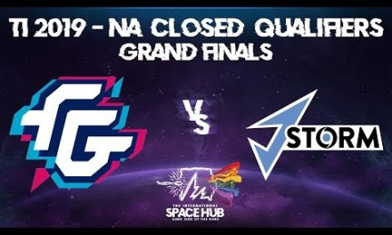 Forward Gaming vs J.Storm Game 1 – TI9 NA Regional Qualifiers: Grand Finals