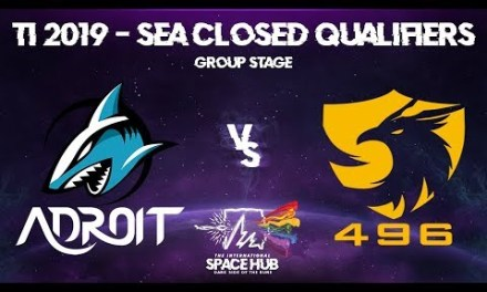 Adroit vs 496 – TI9 SEA Regional Qualifiers: Group Stage