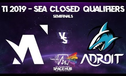 Amplfy vs Adroit Game 1 – TI9 SEA Regional Qualifiers: Semifinals