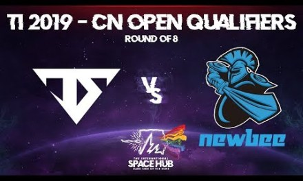 Serenity vs Newbee Game 3 – TI9 CN Open Qualifiers: Round of 8