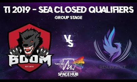 BOOM vs Resurgence – TI9 SEA Regional Qualifiers: Group Stage