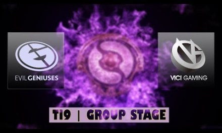 EG vs VG | Ti9 Group Stage Bo2 | LIVE