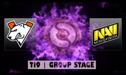 VP vs Navi | Ti9 Group Stage Bo2 | LIVE