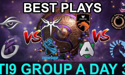TI9 HIGHLIGHTS Group A DAY 3 PART 2 (The International 9) Dota 2 by Time 2 Dota #dota2 #ti9