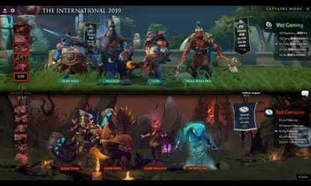 [EN] VG vs EG – The International 2019 Group Stage