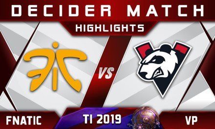 Fnatic vs VP [EPIC] TI9 The International 2019 Highlights Dota 2