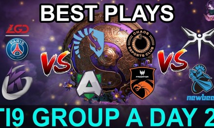 TI9 HIGHLIGHTS Group A DAY 2 PART 2 (The International 9) Dota 2 by Time 2 Dota #dota2 #ti9