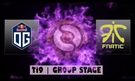 OG vs FNATIC | Ti9 Group Stage Bo2 | LIVE
