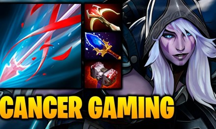 DROW RANGER CANCER GAMING [1440p] Dota 2 Highlights TV
