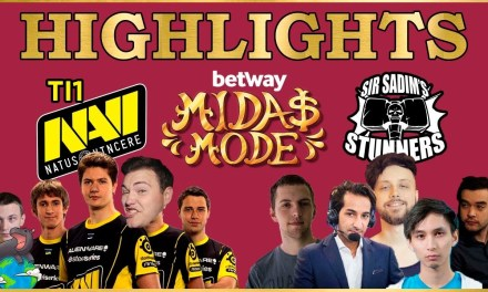 Na'Vi vs Sir Sadims Stunners Highlights (EU Semi finals) – Betway Midas Mode 2