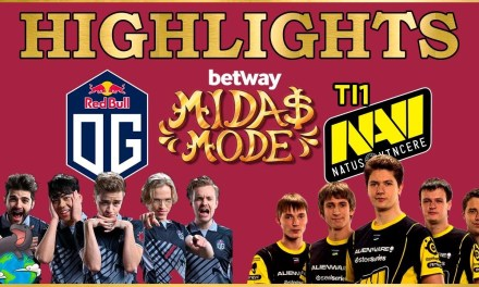 OG vs Na'Vi Highlights Betway Midas Mode 2