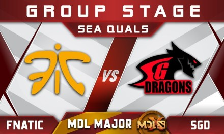 Fnatic vs SGD MDL Chengdu Major 2019 SEA Highlights Dota 2