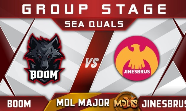 Boom Esports vs Jinesbrus MDL Chengdu Major 2019 SEA Highlights Dota 2