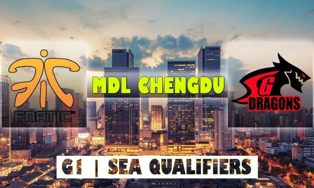 Fnatic vs SGD Game 1 Bo2 | MDL Chengdu Major Qualifiers