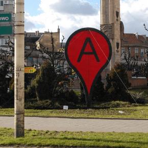 Google Maps in Szczecin, Polen