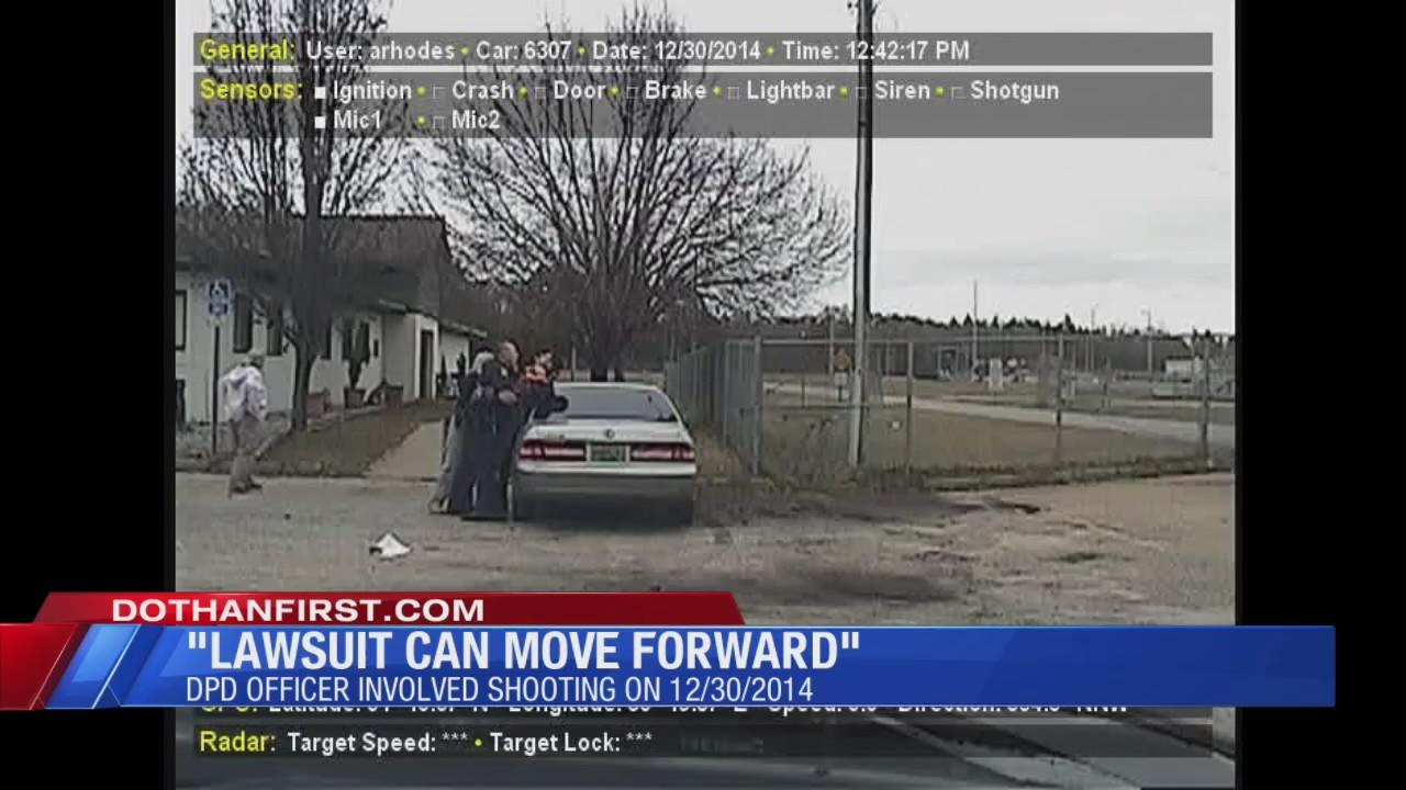 Officer Shooting Lawsuit