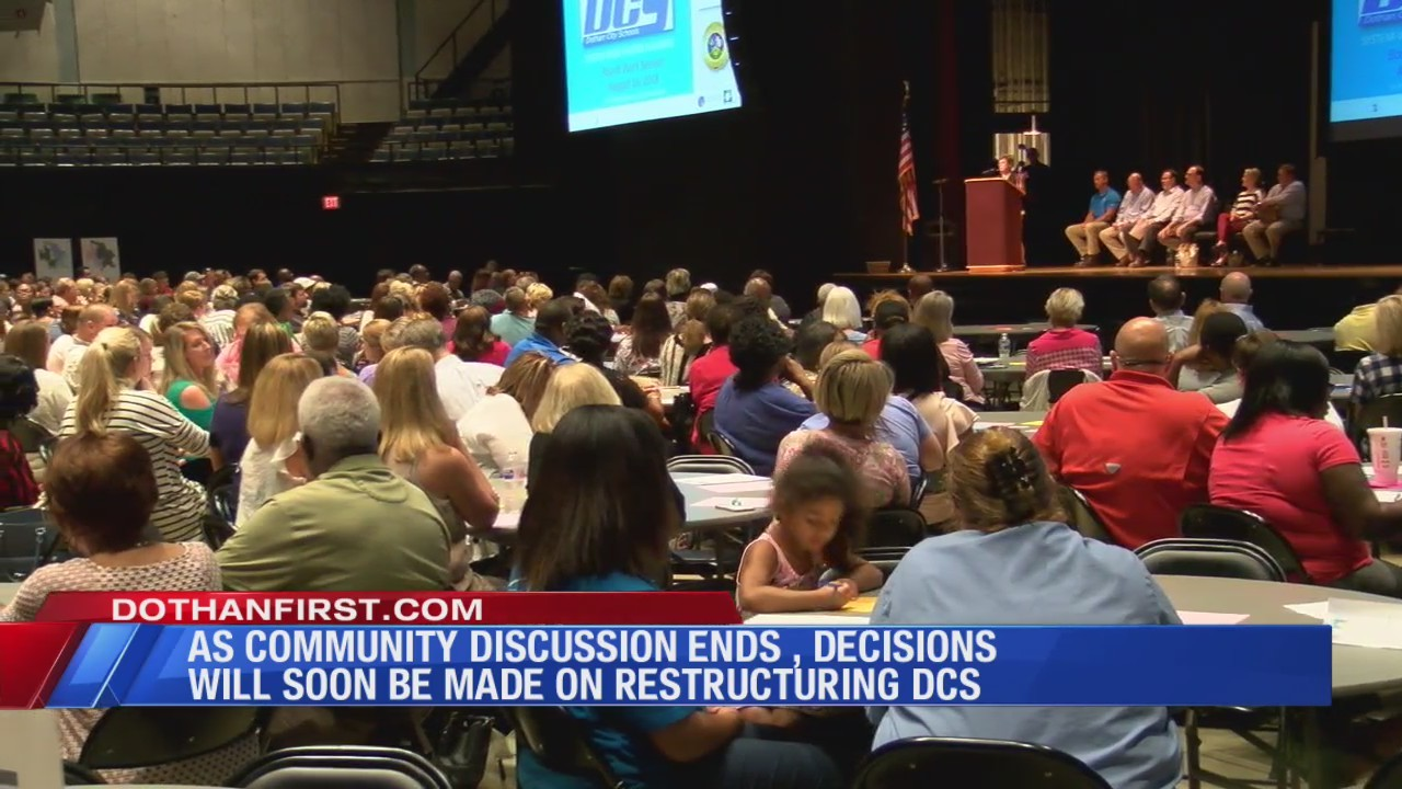 Listening sessions have ended; now decision will be made on restructuring DCS