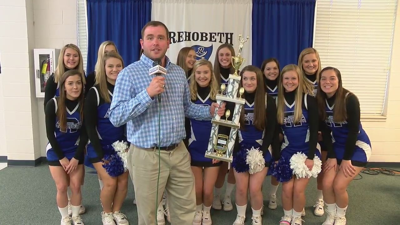 CHEER SQUAD OF THE YEAR: Rehobeth Rebels