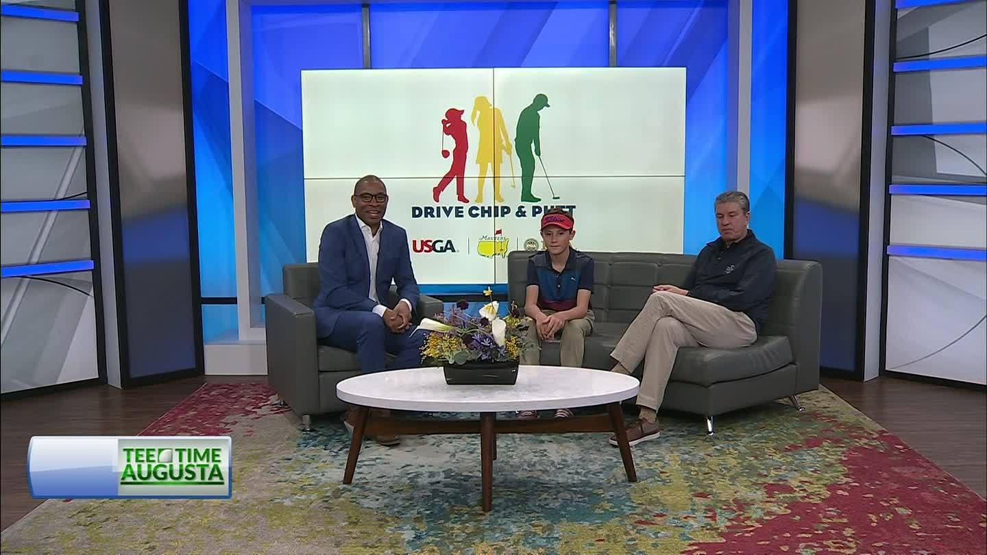 2019 Drive, Chip and Putt competition interview