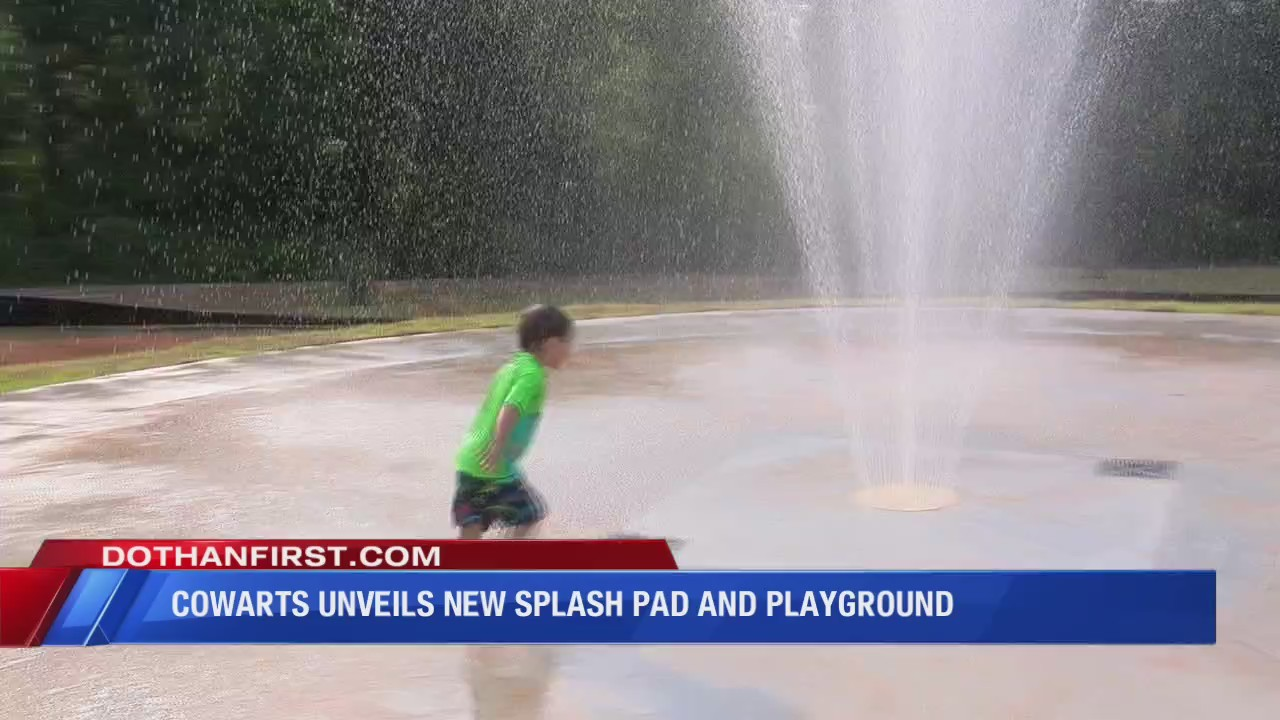 Cowarts' new splash pad and playground officially opens Friday