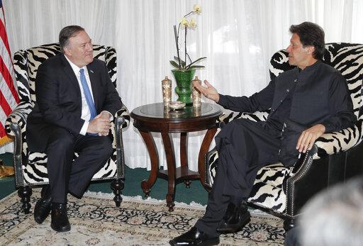 Mike Pompeo, Imran Khan
