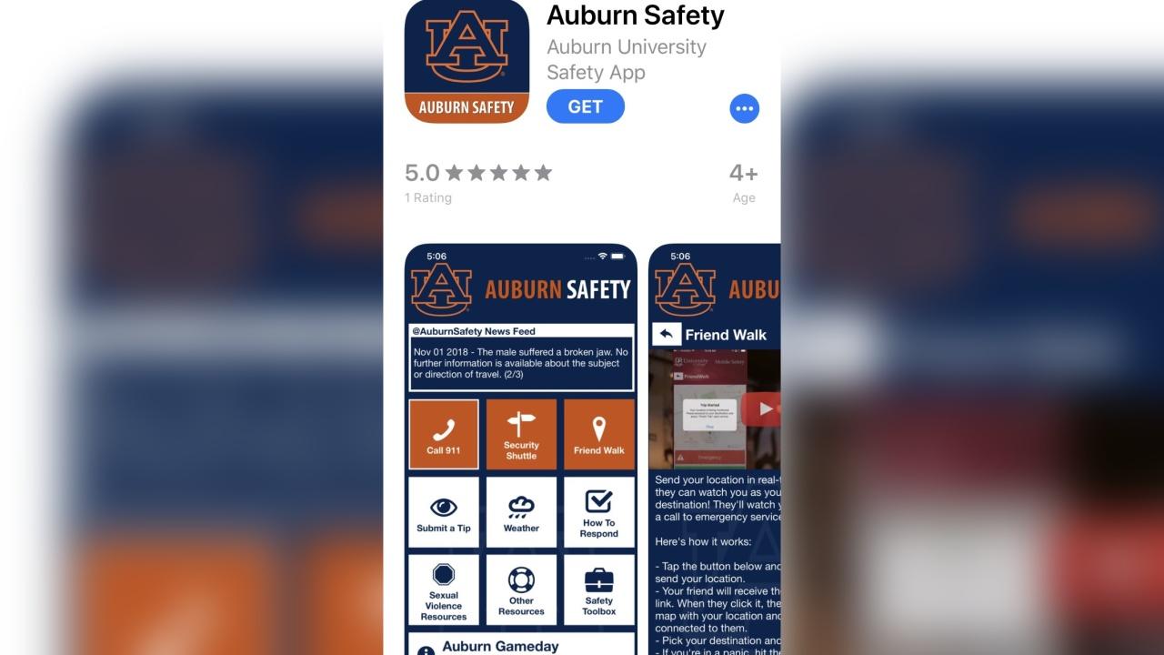 Auburn University launches new safety app | WDHN