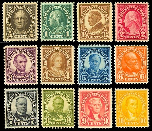 US stamps for collection