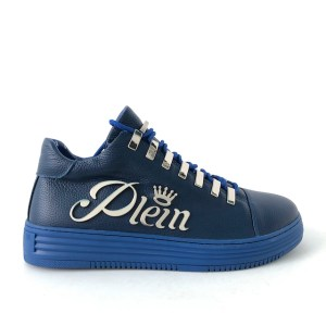 Philipp Plein blue Low top sneakers