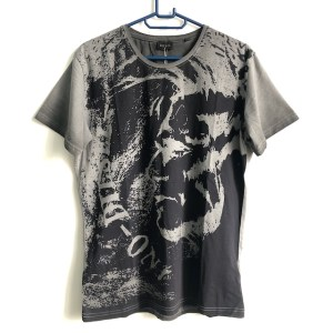 Diesel Grey short sleeve round neck t-shirt