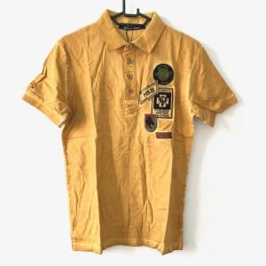Harmont & Blaine yellow short sleeve golf t-shirt