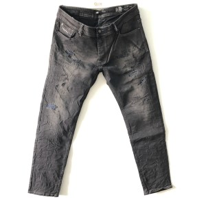 Diesel Luxury Black Sleenker Slim-Skinny denim stretch jeans