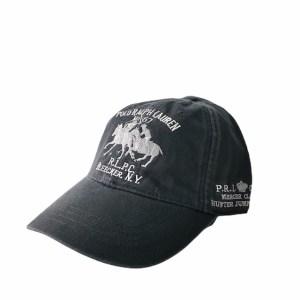 POLO Ralph Lauren Black denim adjustable cap