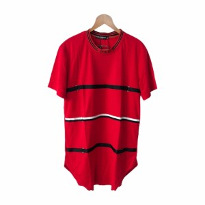 DOLCE & GABBANA Red Short sleeve round neck t-shirt