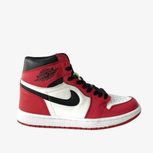 "AJ 1 High OG ""Chicago"" Basketball sneakers - Black/Red/White - dot made"