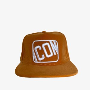 "Icon ""Velvet orange"" cap – dot made"