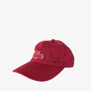 "LCST ""Alligator"" maroon cap - dot made"