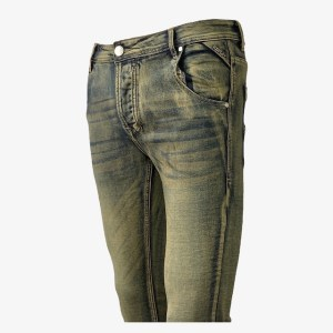 REPLAY Camouflage green denim jeans – dot made