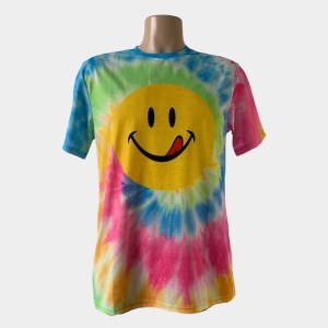 "Drew House ""Smiley tongue"" colourful t-shirt - dot made"