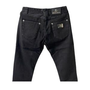 Angelo Galasso velvet black denim jeans – dot made